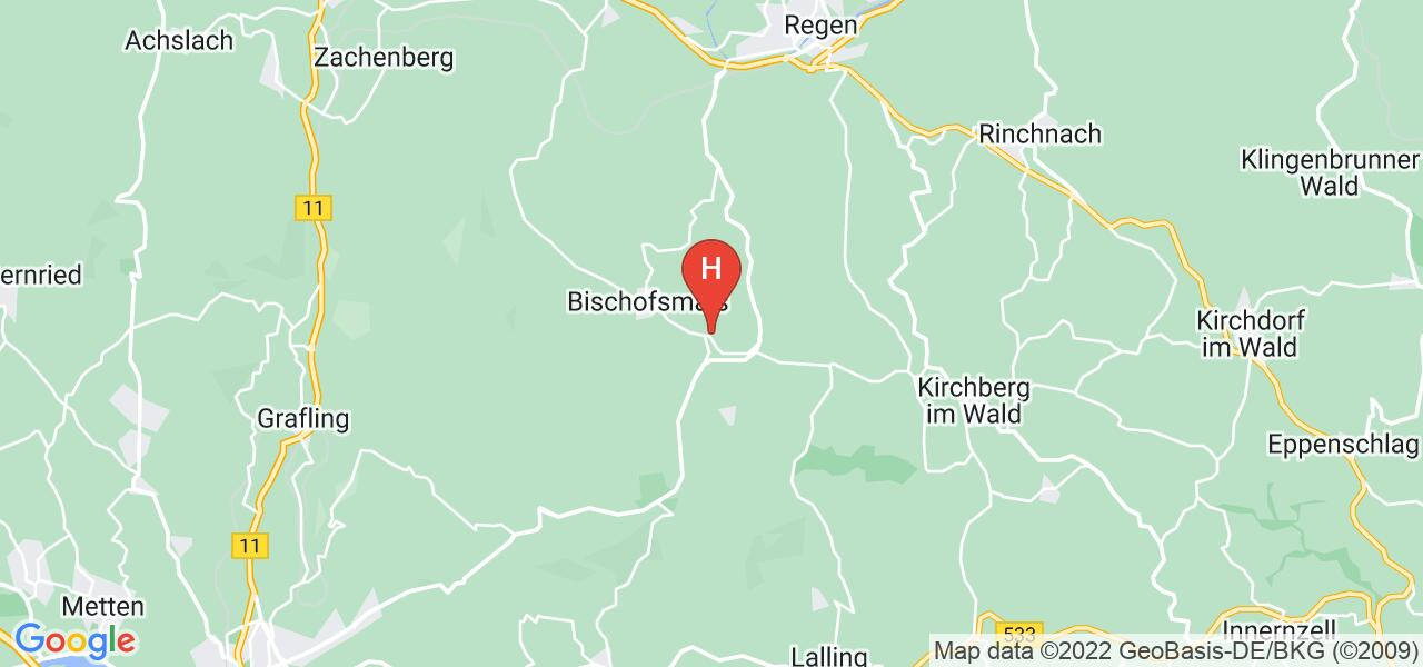 Am Hang 3,94253 Bischofsmais