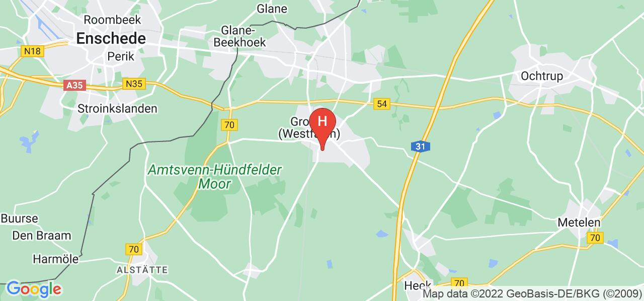 Germaniastraße 3,48599 Gronau