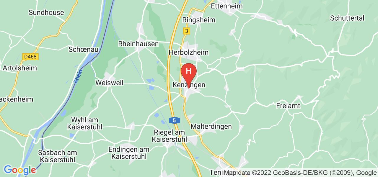 Offenburger Str. 15,79341 Kenzingen