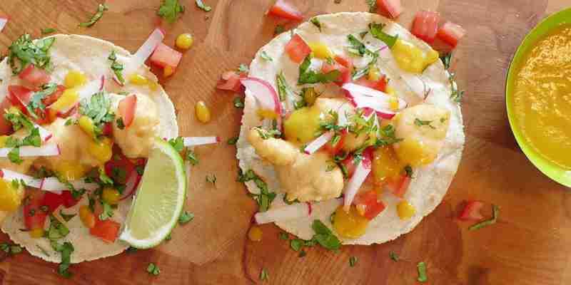 Tacos vom Foodtruck Casita Oaxaca aus Hamburg