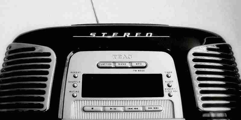 Retro Kasetten Radio