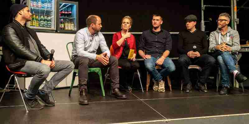 Streetfood Convention Paneldiskussion Moderatorin Teilnehmer