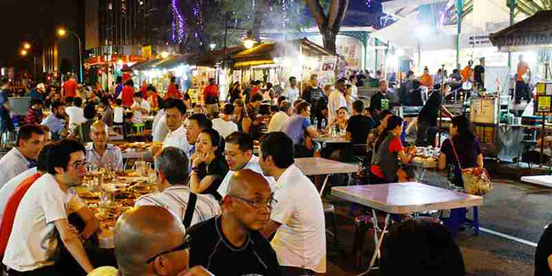 Singapur Streetfood