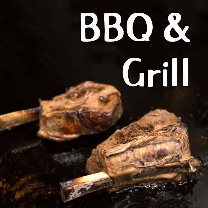 Barbeque Grill Street Food