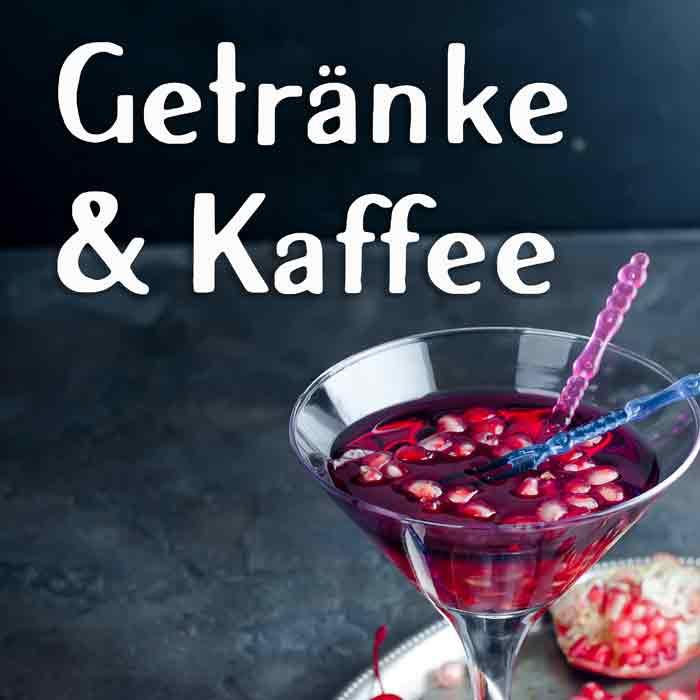 Getränke Cocktails Kaffee Street Food