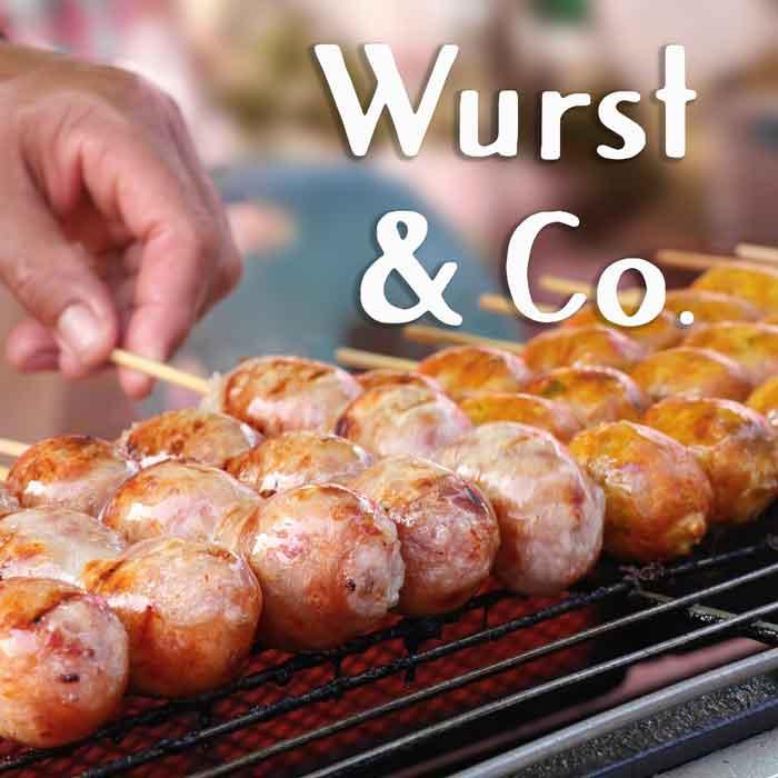 Wurst & Co. Würstchen Street Food