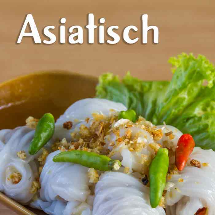 Dumplings asiatisches Street Food