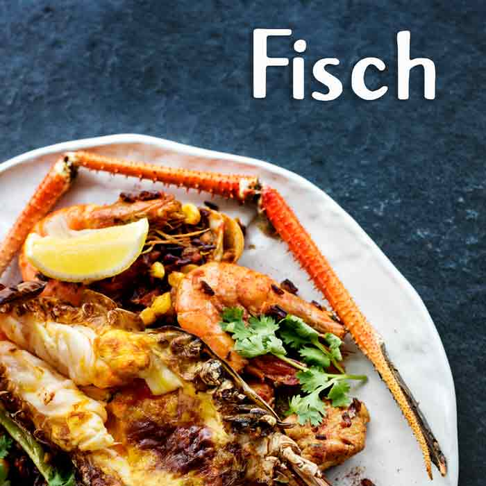 Fisch Meeresfrüchte Street Food