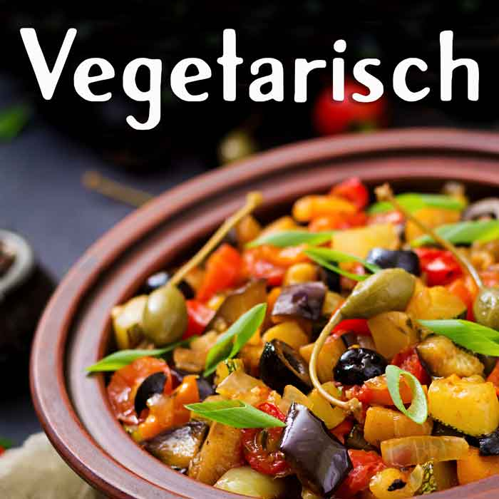 vegetarisches Street Food