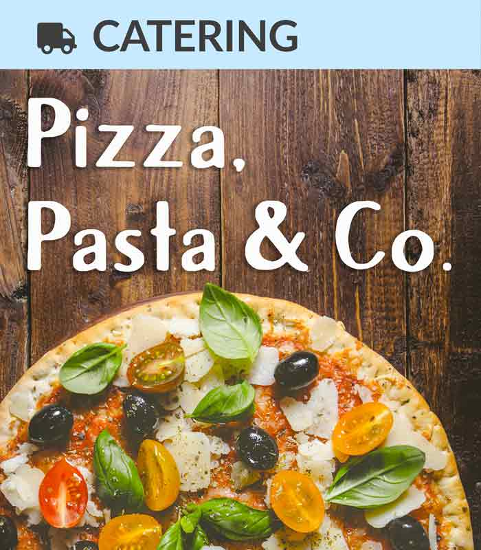 Pizza, Pasta, italienisches Street Food