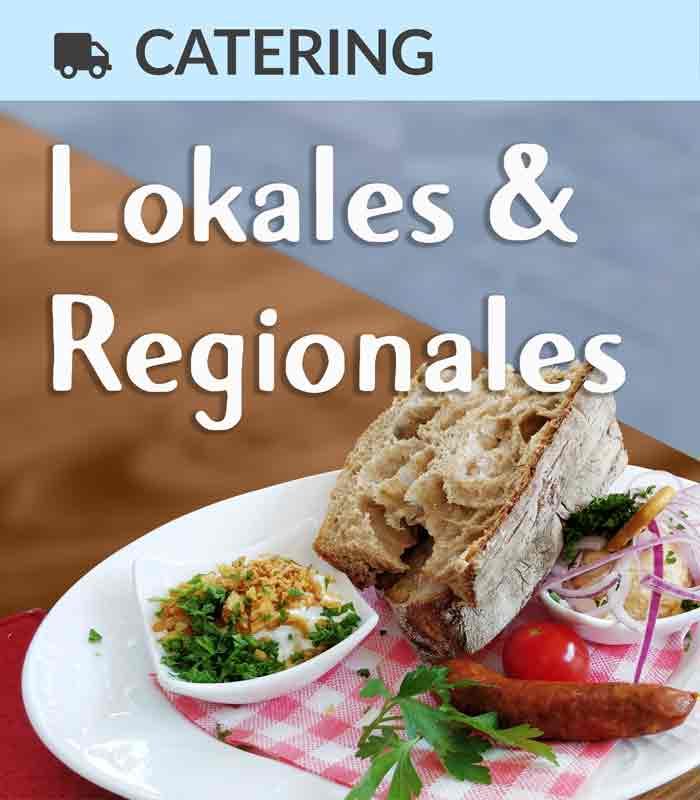Foodtruck-Catering mit lokalen und regionalen Speisen