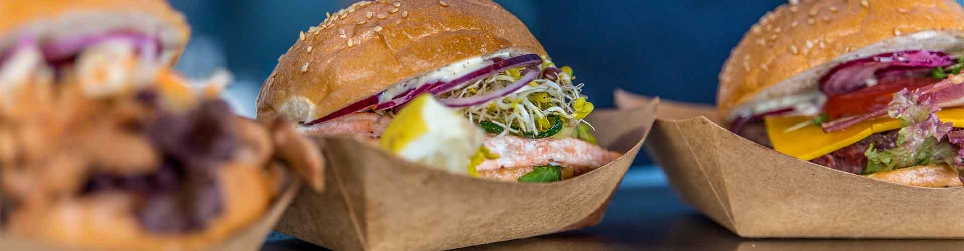Burger Variationen Foodtruck Street Food