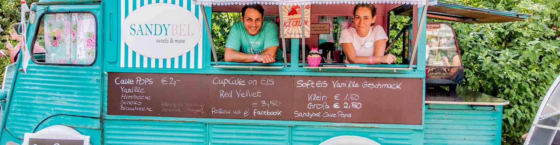 Foodtruck Citroen HY blau Sandybel