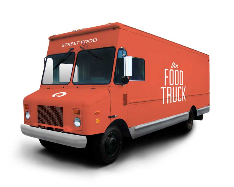 Craftplaces Foodtruck rot